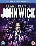 John Wick Chapter 1 & 2 Blu-ray