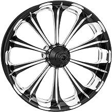 Performance Machine Revel Platinum Cut 18x5.5 Rear Wheel, Color: Black, Position: Rear, Rim Size: 18 12697814PRELBMP