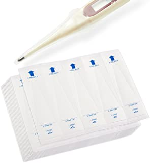 Pack of 100 Digital Thermometer Probe Covers - Disposable, Sterile and Safe, 3.75 x 1.02 Inches