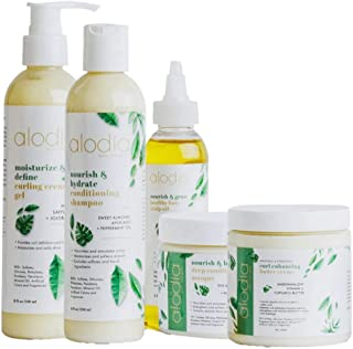 Alodia Wash n Go Style Kit, Paraben and Sulfate Free, Full Size
