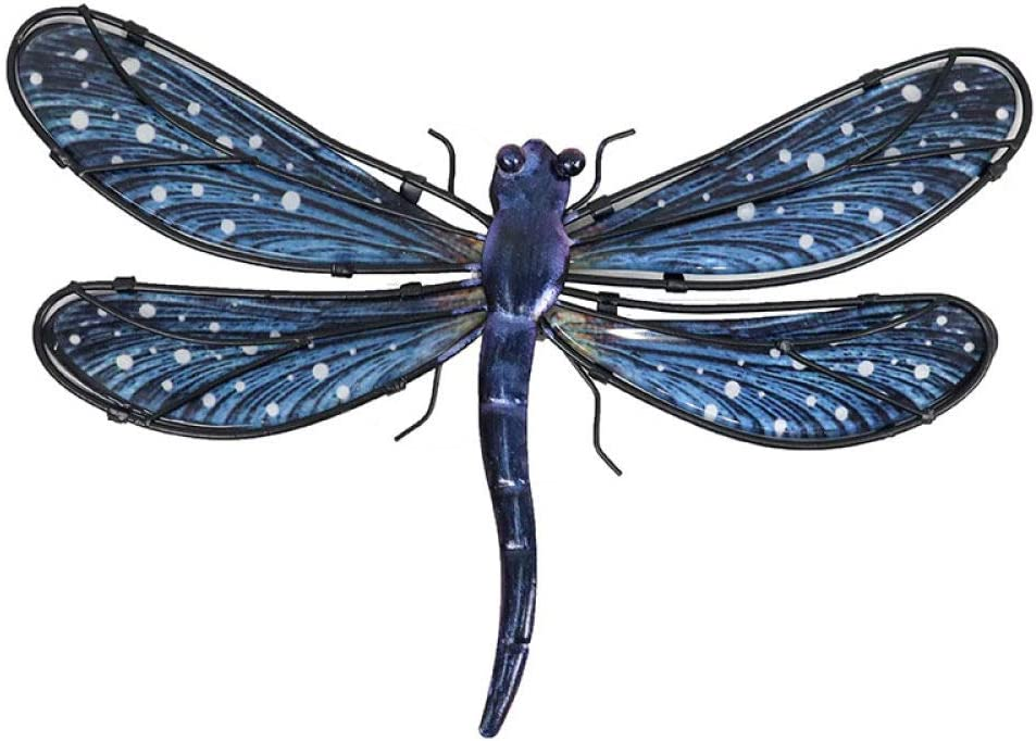 Metal Dragonfly Wall Artwork for Miniaturas NEW before selling ☆ Gifts An Garden Decoration