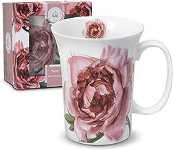 Royal Botanic Gardens Kew Peony Porcelain Coffee Mug Teacup with Box 12 Ounce
