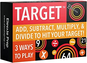 Sponsored Ad - Elevate Prep Target Math Game | A Teacher-Recommended, Fast-Paced Mental Math Game for Practicing Addition,...