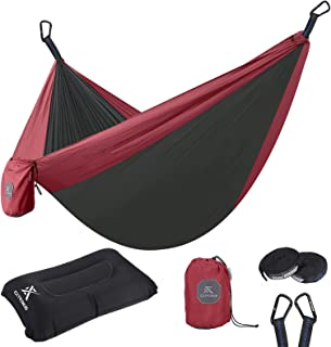 Extremus Single or Double Body Sling Camping Hammock,...