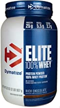 Dymatize Nutrition Elite Whey Protein Powder, Rich Chocolate, 2 Pound