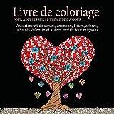 Livre de Coloriage pour Adultes sur le Theme de L'amour: 55 Images a Colorier sur le...