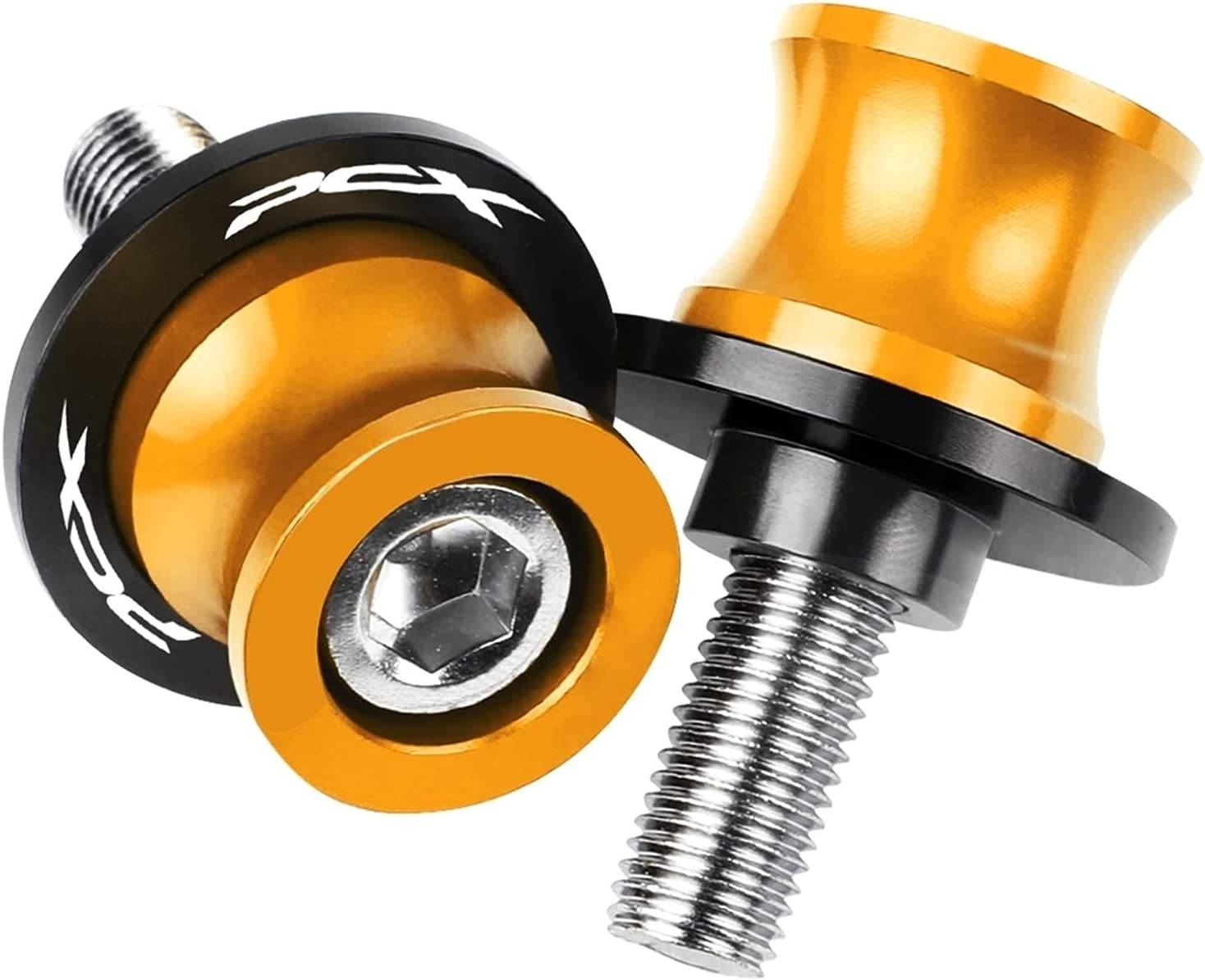 YHTG Motorcycle Super Special SALE held Rear Fork Spool Max 47% OFF CNC Alumi Screw Seat Slider