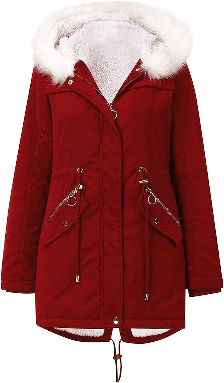 BFAFEN Max 84% OFF Warm Winter Coat Women Fur Parka Fleece Wholesale Jacket with