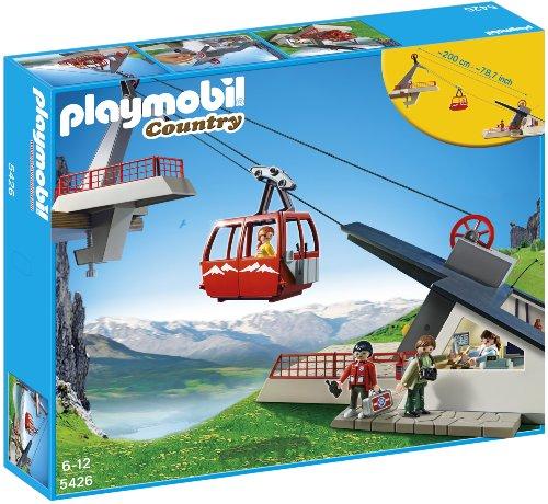 Playmobil Vida en la Montaña: Teleférico