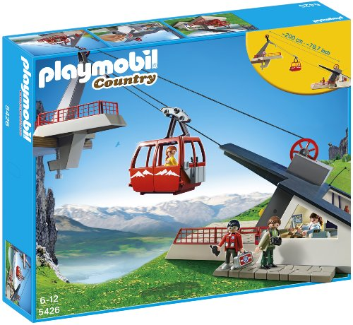 Playmobil Vida Montaña - Teleférico Alpes, Playsets