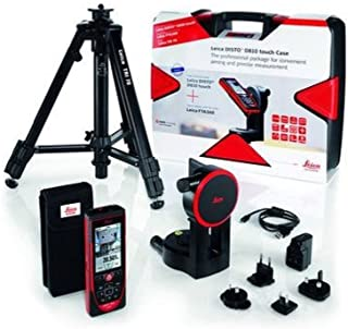 38960-PE Leica DISTO D810 Touch Laser Distance Measurer Package Includes Leica DISTO D810 Touch, Tripod, Adapter, Rugged Carrying Case
