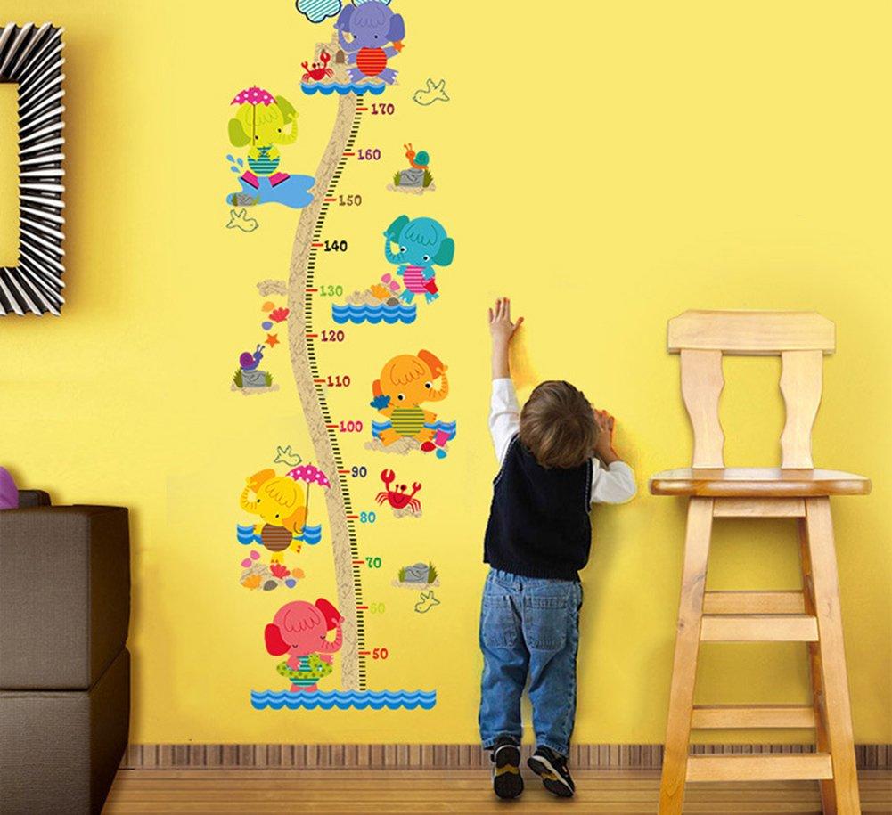 A Chytaii.Decoracion Pared Infantil Pegatinas Altura Gr/áficos de Crecimiento Ideal para Decorar Los Mobiliarios Dormitorios Sala Aulas Habitaci/ón para Ni/ños Cocina Etc
