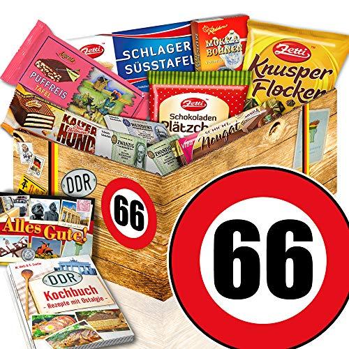Geschenk zum 66. Geburtstag / DDR Schokolade / Geschenke 66 Geburtstag Papa