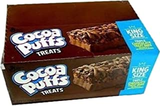 General Mills | Cocoa Puffs Triple Chocolate Treat | Cereal Bar | 1.73 Ounce 12 Pack
