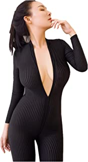 bodysuit with zipper crotch