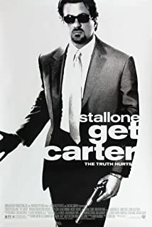 GET CARTER MOVIE POSTER 1 Sided ORIGINAL 27x40 SYLVESTER STALLONE