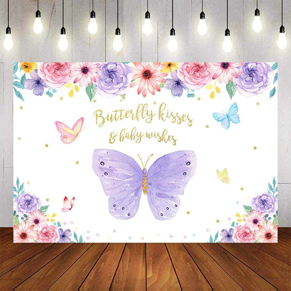 Butterfly Fairy Baby Shower AdviceActivity Books