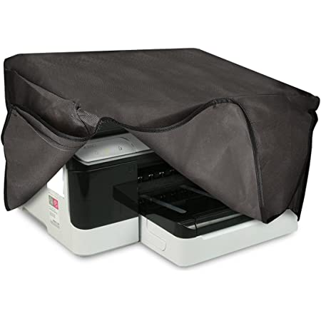 Kwmobile Hülle Kompatibel Mit Hp Officejet Pro 8700series Drucker Staubschutzhülle Schutzhaube Schutzhülle Dunkelgrau Bürobedarf Schreibwaren