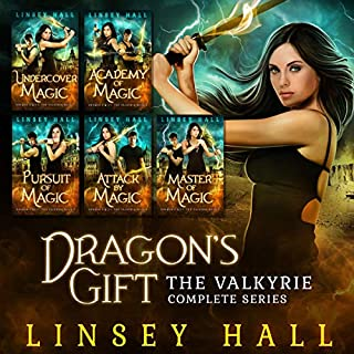 Dragon's Gift: The Valkyrie Complete Series, Books 1-5 audiobook cover art