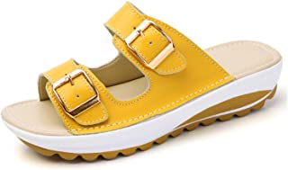 MJ-Young Slipper Women Slippers Flip Flops Soft Bottom Slides Summer Beach Shoes Buckle Ladies Flat