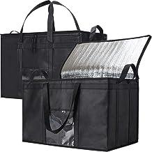 NZ Home Food Delivery Bag | Ideal for Uber Eats, Instacart, Doordash, Grubhub, Postmates, Restaurant, Catering, Grocery Tr...