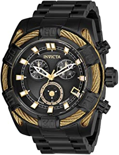 Invicta - 26996 Bolt Reloj para Hombre acero inoxidable Cuarzo Esfera negro