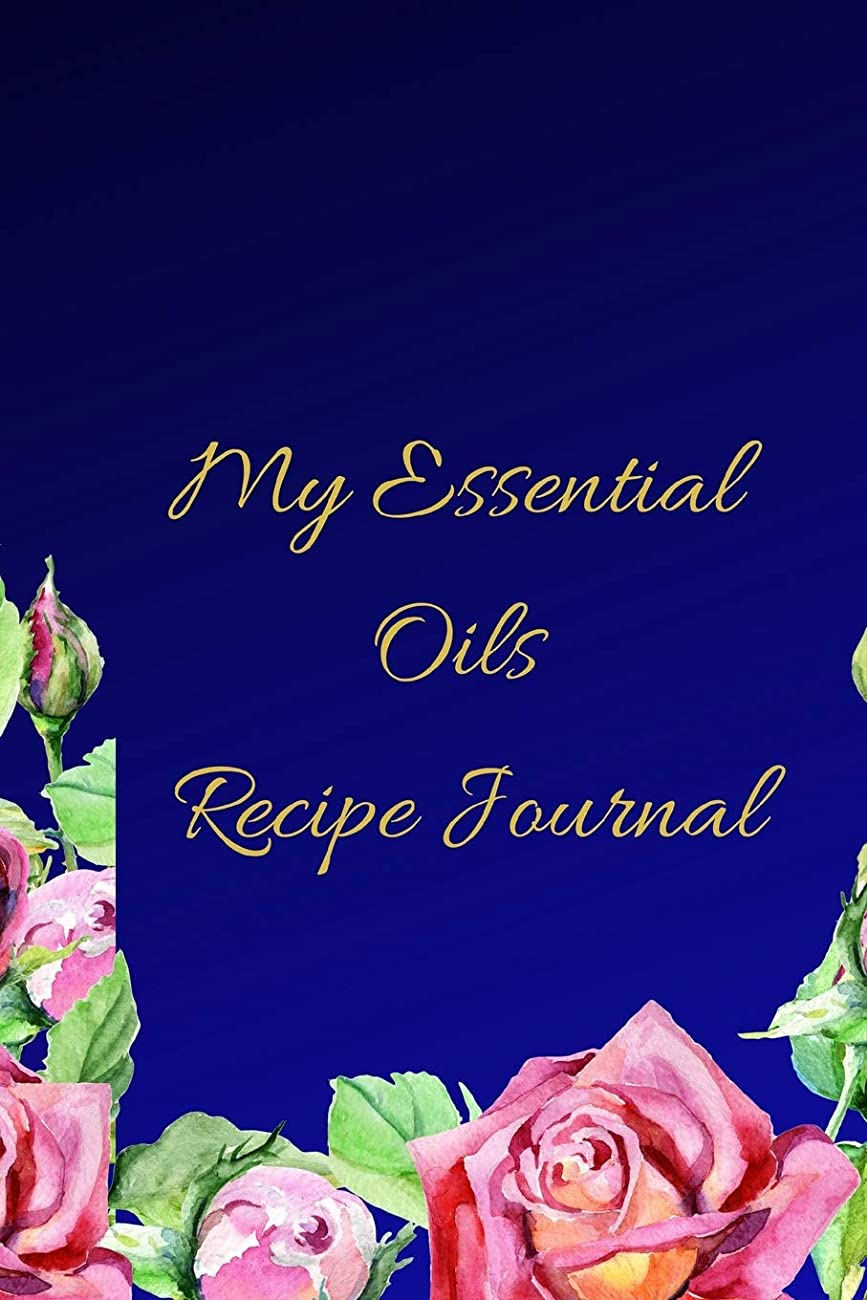 ピットセールスマン笑My Essential Oils Recipe Journal: A Blue Floral Themed Blank Logbook Organizer, Diary Notebook, Tracker And Planner With EO Chart To Record And Write In Your Blends; For Women, Men Who Love Aromatherapy, Estheticians And Beauticians.