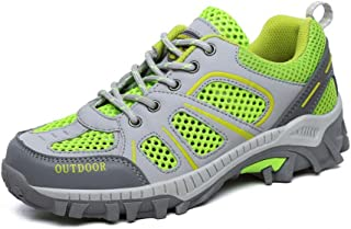 アウトドアハイキングシューズ、新しい女性のメッシュ通気性の靴、トレッキング、ノンスリップ軽量ランニングスニーカー、ソフトで快適、夏に最適 (色 : A, サイズ : 39)