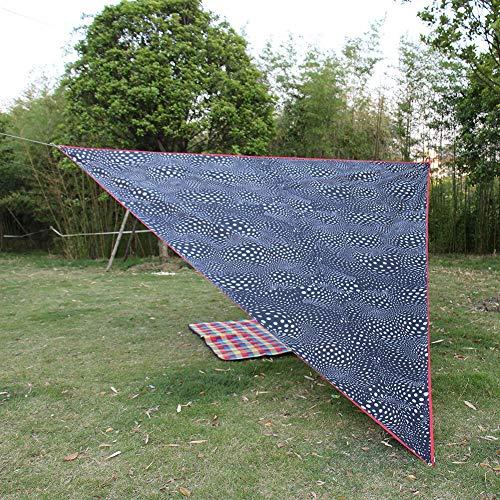 Weikeya Toldo de Protector Solar Recubierto, Pantalla de Tela de Tela Hecha de espesante Protector Solar de Plata Resistente al Desgaste
