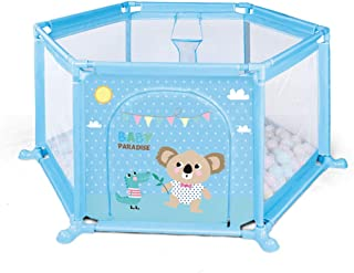 Relaxbx Baby Fence  Children S Play Fence  Portable Plastic Safety Fence Baby Indoor Crawling Mat Toddler Fence Outdoor Durable Playground