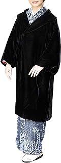 ひねりゴージャス試み[アゲハラベルベット] 和装コート 日本製 着物コート へちま衿 ベルベット生地 10 レディース