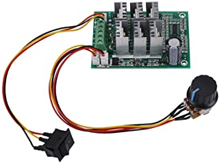 Motor Speed Controller, DC 5V-36V 15A 3-Phase Brushless Motor Speed Control CW CCW Reversible Switch
