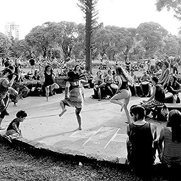 Drum Circle, Parque Centenario, Buenos Aires, Sunday, December 2015, Pt. 1