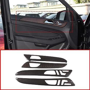 Mercedes Benz GLE GLS ML GL W166 2013-19 Centre Multimedia Mode trim carbon fibr