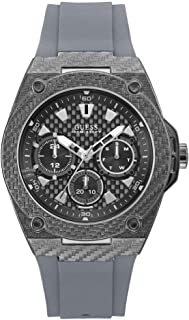 Guess Mens Analogue Quartz Watch with Rubber Strap W1048G1