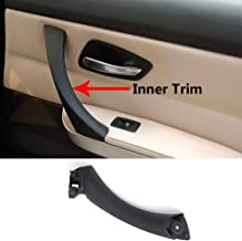 TTCR-II Door Handle Pull Inner Strap Compatible with BMW 3 Series E90 E91 Black Right Front/Rear Interior Passenger Side Door Handle Inner Bracket (Fits: 323 325 328 330 335 Sedan&Touring)