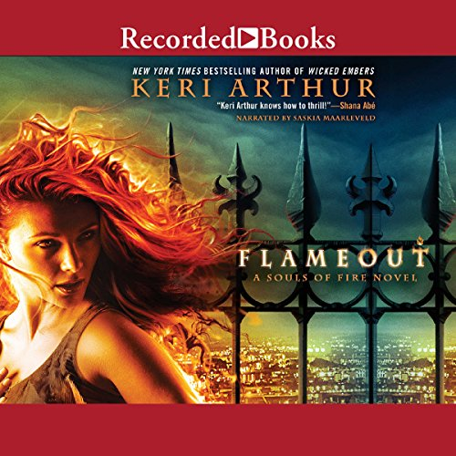 Flameout audiobook cover art