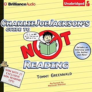 Charlie Joe Jackson's Guide to Not Reading cover art