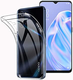 FOR OPPO Reno3 A 専用 ケースクリア 透明 TPU カバー FOR OPPO Reno3 A専用カバー クリアカバー 薄型 軽量 耐衝撃 擦り傷防止吸収柔らかい手触り クリア FOR OPPO Reno3 A 全面保護カバー P...