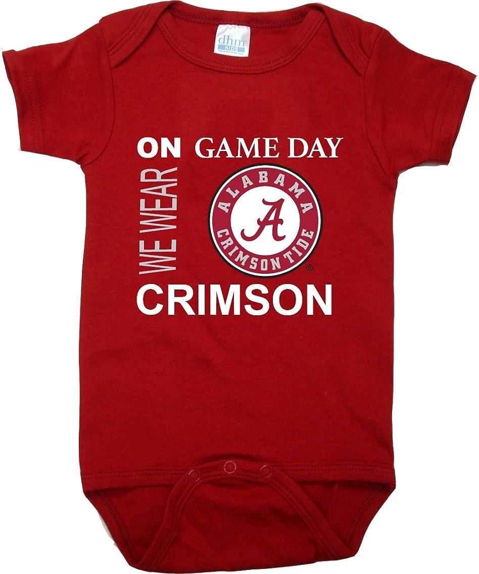 Future Tailgater Alabama Crimson Tide On Game Day Baby Onesie