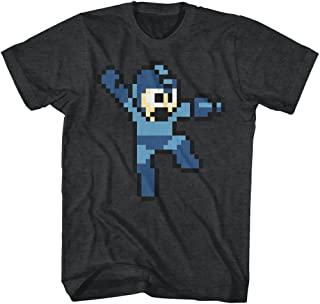 Mega Man Jumpman Video Game Pixel Robot Android Rockman Adult T-Shirt