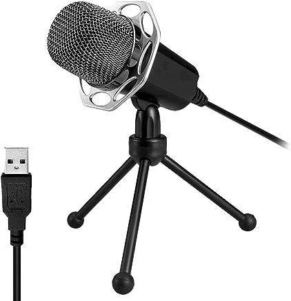 XIAOKOA USB Microfono per PC, Plug & Play Microfono a condensatore per Computer, Notebook Adatto per presentazioni, Podcast, Skype, registrazioni, messaggistica istantanea, Giochi - Trova i prezzi più bassi