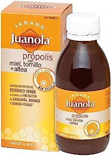 JUANOLA - Jarabe Própolis Miel. Tomillo. Altea Juanola