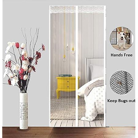moustiquaire aimantee blanche porte magnetique rideau aimantee fenetre pour garage coulissantes anti mouche insecte super