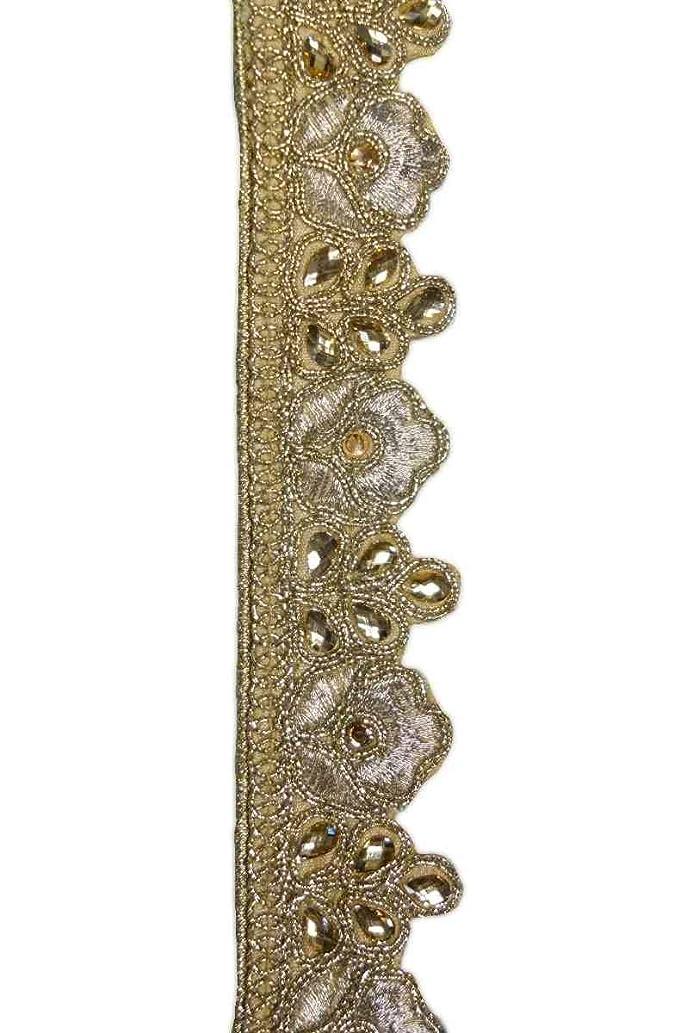 Luxury Embellished Ribbon (Jeweled Crown)