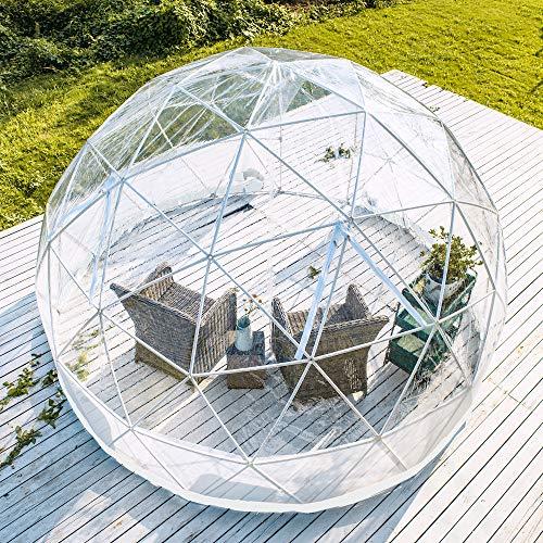 Dome 3.6m Geo Garden Dining Outdoor Igloo Pod - PVC Shelter for Garden, Pubs & Restuarants