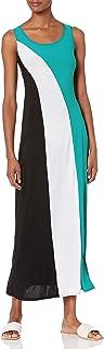 فستان طويل بلا أكمام للنساء من Star Vixen بألوان متعددة