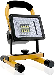 [15W 24LED] Spotlights Work Lights Outdoor Camping Lights, Built-in Rechargeable Lithium..