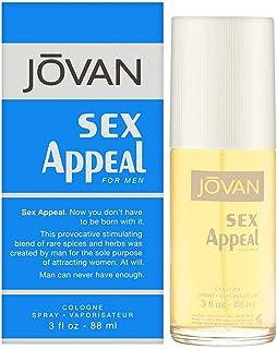 Sex Appeal by Jovan for Men - Eau de Cologne , 88 ml