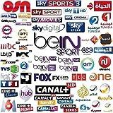 Bull-Seller le da 12 Meses CCCAM 1 año Europa, España 2 Clines suscripción HD WiFi DVB-S2 Todos los decodificadores satelites, Especial para decodidificadores Engel
